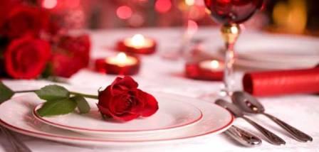 День влюбленных в ресторане