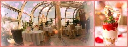 День Святого Валентина в ресторане Зимний сад