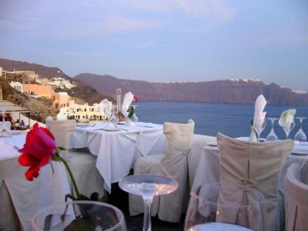 Ресторан Ambrosia. Греция
