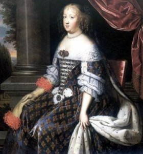 Соболиное манто, подаренное Людовиком XIV своей жене