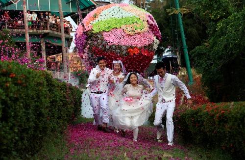 Экстремальная свадьба в Тайланде