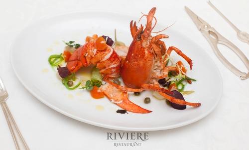 День святого Валентина в ресторане Riviere