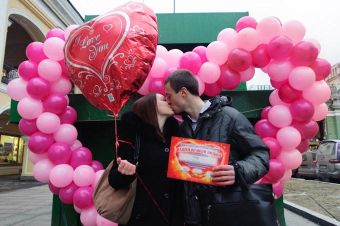 День святого Валентина в Северной столице