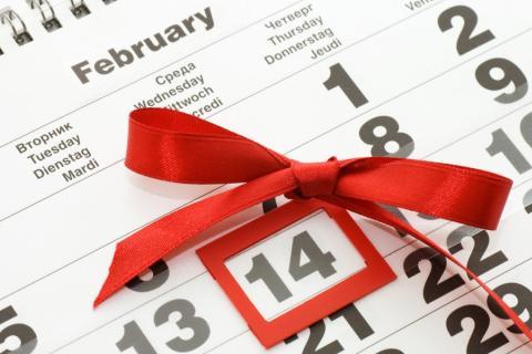 Приметы и обычаи англичан в День святого Валентина.