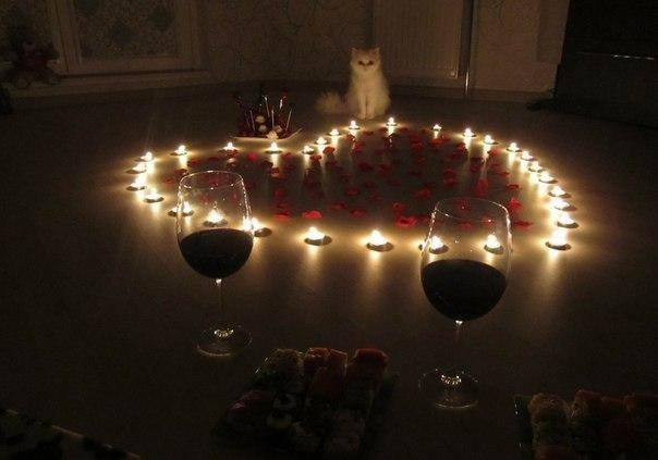 Отмечаем День святого Валентина романтично и незабываемо. Часть 2.