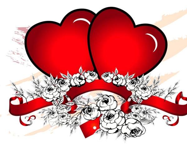 Все о валентинке и других символах Дня святого Валентина. Часть 2.
