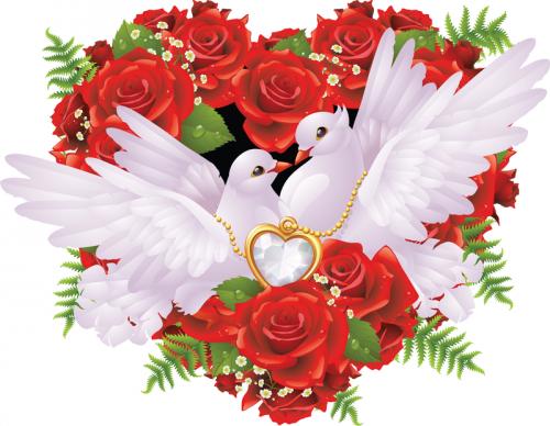 Все о валентинке и других символах Дня святого Валентина. Часть 2.2